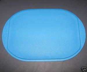 tupperware cutting board round aqua new kitchen dining. Black Bedroom Furniture Sets. Home Design Ideas