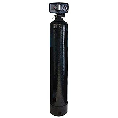 "Whole House Water Filtration System Fleck 5600 Backwash Valve| 2 cu.ft. GAC Coconut Shell Carbon 12""x52"""