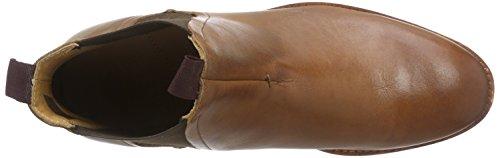 H Shoes TAMPER - botines chelsea de cuero hombre marrón - Braun (Tan)