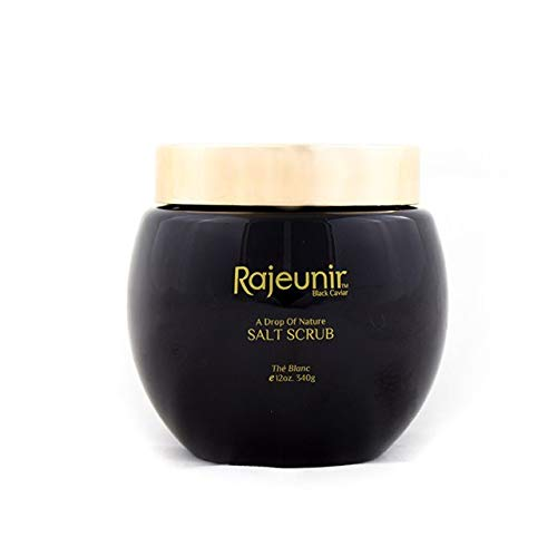 Rajeunir Black Caviar Salt Scrub Exfoliate and Hydrate Your Skin and Leave It Smooth, Soft and Healthy (LE BLANC)