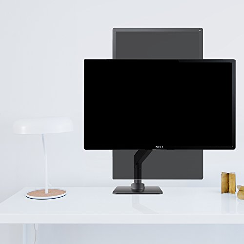 Monitor Arm Mount-Upgraded Version, Bestand Vesa Desk Mount Stand for LCD LED Computer Screen up to 27'', (Single Monitor Arm, Grey) by Bestand (Image #3)
