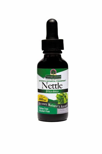 Nettles Extract Alcohol Free Nature's Answer 1 oz Liquid (Pack of 2)