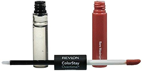 (Revlon ColorStay Overtime Liquid Lip Color, Bare Maximum [350] 0.07 oz (Pack of 3))