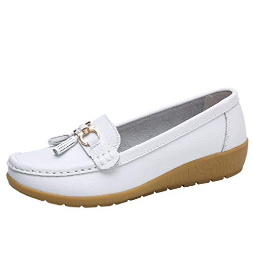 Boomboom Soft Women Casual Wedges Outdoor Leisure Lightweight Peas Boat Shoes