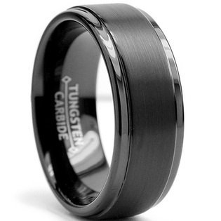 8mm tungsten rings for men - 2