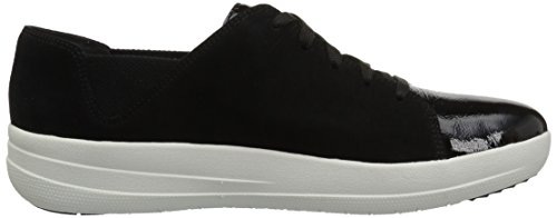 Fitflop Womens F-sporty Blonder-up Sneaker Svart Mix