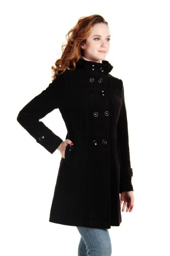 Womens Winter Woolen Double breasted Trench product image