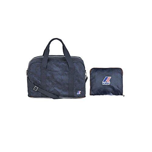 Borsone Viaggio Donna K-Way Small Folding Duffle Woman K1513 (blu)