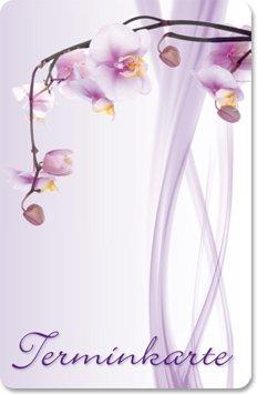 Terminkarten (100 Stück) für Wellness, Kosmetik, Beauty, Massage - Terminkartesüße Brise notizblock24