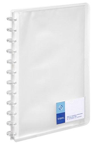 Viquel Maxi Rilegatura 60 vedute in Propyglass formato gé ode, trasparente 046540-05