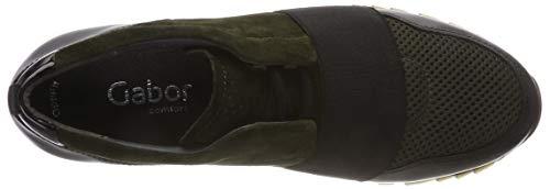 Bottle Schwarz Stringate Verde Donna Gabor Comfort 34 Derby Scarpe Basic nwqx0xp8g1