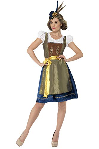 Scary 1920 Halloween Costumes (Smiffys Deluxe Traditional Heidi Bavarian)