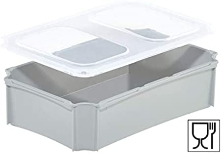 Blanco Giganplast Box Caja Pl/ástico