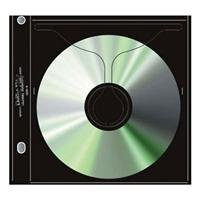 Print File CD / DVD Archival Storage Page Holds One Disc per Side, Pack of 25 Pages.