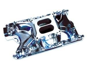Professional Products 54022 Polished Typhoon Intake Manifold for Ford 351W Typhoon Manifold