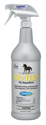 - Tri-Tec 14 Fly Repellent Spray For Horses