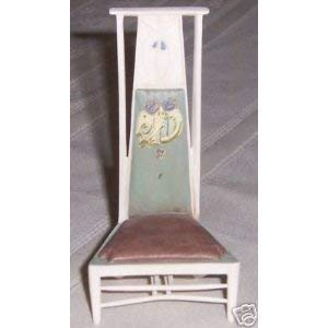 Take a Seat By Raine Willitts Linear Elegance Mini Chair Figurine Art Nouveau