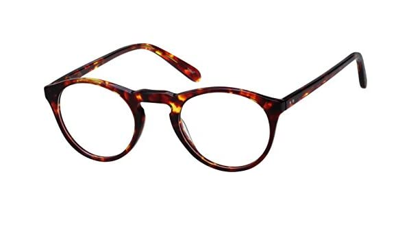 952efab0a28 Amazon.com  4413725 Vintage Tortoiseshell Round Eyeglasses  Health    Personal Care