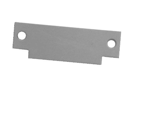 Don-Jo FS 260 Steel ANSI Strike Cut Out Filler Plate, Chrome Plated, 1-1/4'' Width x 4-7/8'' Height (Pack of 10) by Don-Jo