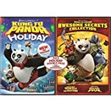Po's Holiday Double Pack LIMITED EDITION 2 DVD Set - Kung Fu Panda Holiday / Awesome Secrets Collection