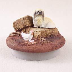 Conversation Concepts Miniature Pekingese Candle Topper Tiny One
