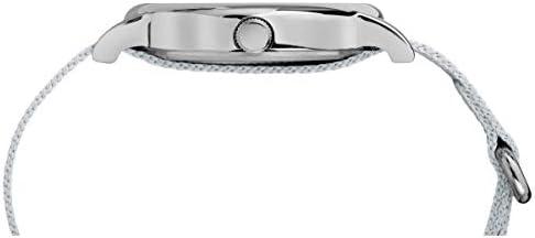 Timex Weekender 38 mm Metallic Fabric Watch TW2R92500