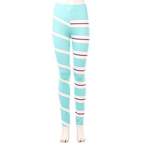 Joyfunny Vanellope Von Schweetz Yoga Leggings Sport Leggings MidWaist Full Length Pants Female XL -