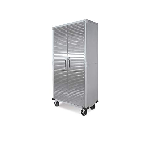 UltraHD Tall Storage Cabinet - Stainless Steel (Cabinet Rolling)