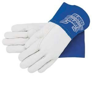 Memphis Glove 127-4850M Mig/Tig Welders Gloves, Premium Grade Grain Goatskin, Medium, Beige (Pack of 12)