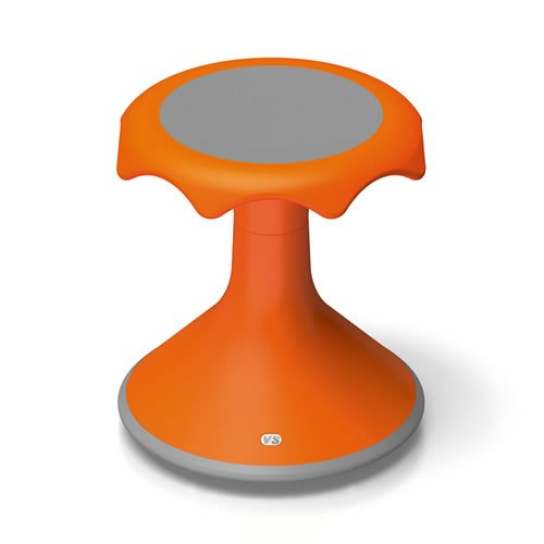 Hokki Stool - 15'' Orange