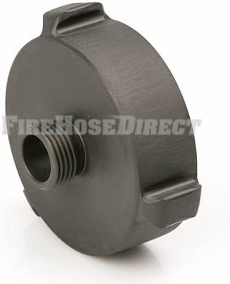 Aluminum 2 1//2 Female NH to 1 Male NPSH Fire Hose Adapter