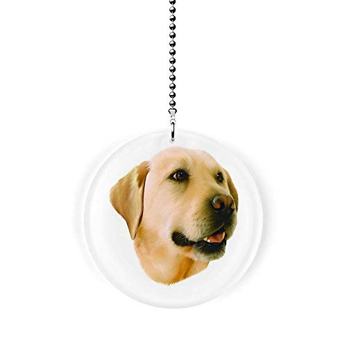 Yellow Labrador Fan/Light Pull
