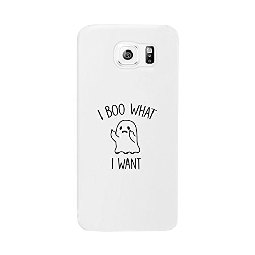 365 Printing What I Want Ghost Galaxy S7 Case White Halloween Phone Case Slim -