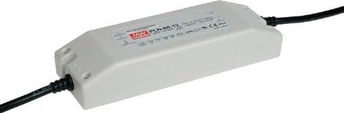 Meanwell PLN-60-12 Netzteil AC//DC-Konverter 12V//60W Einbau Sonstige IP65 f/ür 12V LED//NVH