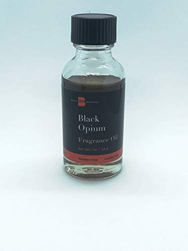 Black Opium Fragrance Oil 1oz Perfume Body Oil Alcohol-Free Beaumondes Made in USA