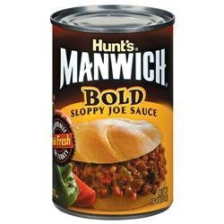 MANWICH (BOLD) Sloppy Joe Sauce 16oz 3pack by Hunt's