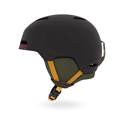 Giro Ledge Snow Helmet Matte Black Mo Rockin MD 55.5-59cm