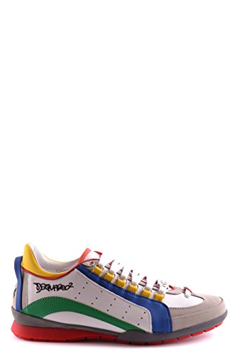 DSQUARED2 HOMME S16SN434714M538 MULTICOLORE CUIR BASKETS