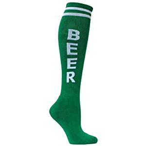 Gumball Poodle Unisex Beer Socks Retro Knee High Tube Socks
