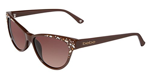 Bebe Sunglasses BB 7024 BROWN 002/CHOCOLATE (Bebe Brown Sunglasses)