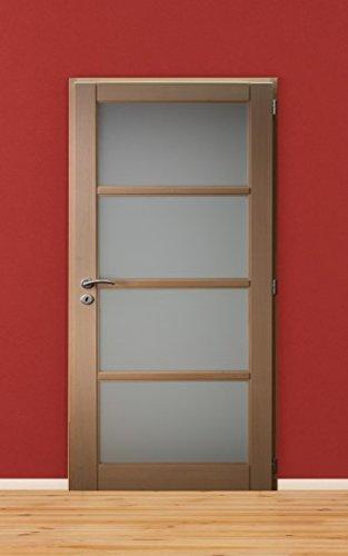 Bloc Porte Interieur Huisserie De 72 En Hetre, Vitre, Largeur 93 Cm