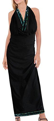 rayon LA sarong nappe 70x43inch solido avvolgere Nero k822 conchiglie LEELA spiaggia dolce coprire pZfwExprq