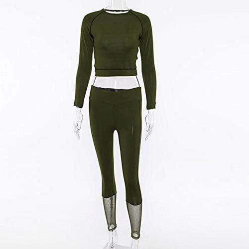运动健身衣 Vêtements de fitness, costume de sport de yoga caché pour femmes (ensemble 2 pièces)