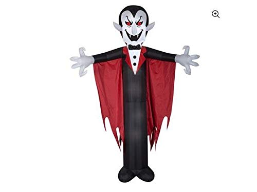 Details About Halloween Airblown Inflatable Vampire with Cape 12FT Tall by Gemmy Industries -