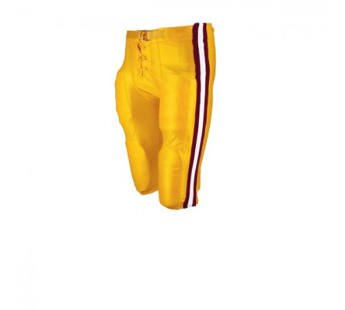 Pants Game Light Football - Wilson WTF5720 Youth Deluxe Football Game Pant, Light Gold, Large
