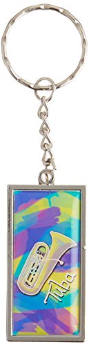 Graphics and More Tuba Musical Instrument Music Brass Band Keychain Ring (K7202)