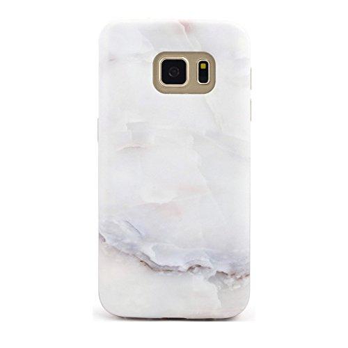 GOLINK Galaxy S7 Case IMD Slim-Fit Anti-Scratch Shock Proof Anti-Finger Print TPU Case For Galaxy S7 - Jade Marble