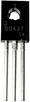Lot Transistor bipolar BJT NPN 45V 4A 3MHz 36W Agujero pasante TO-225AA BD437 10PCS 10pcs
