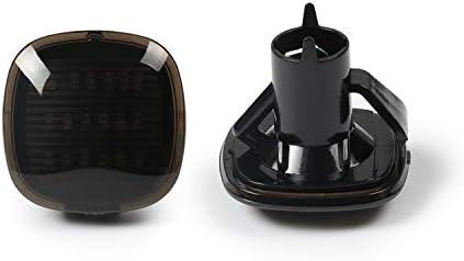 color negro A8 D2 de Seat Ibiza 6K Intermitente lateral LED compatible con A3 8L A4 B5