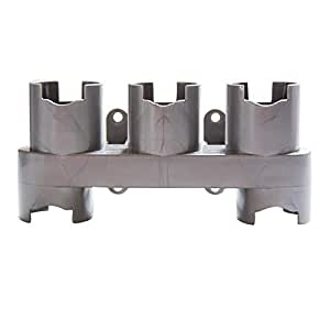 SODIAL Accessories Storage Equipment Shelf for Dyson V7 V8 V10 Absolute Brush Tool Nozzle Base Bracket Vacuum Cleaner Parts